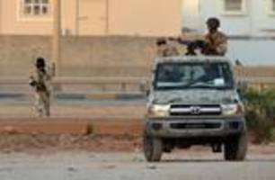 Libyan fighting in several areas with no sign of dialogue