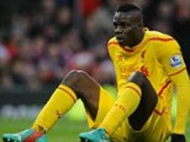 Mario Balotelli out of Liverpool Capital One Cup clash at Bournemouth