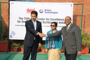 TERI and UTC Set up Center of Excellence for Energy Efficient Buildings in India