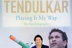 Sachin Tendulkar's autobiography to be available in Marathi next year
